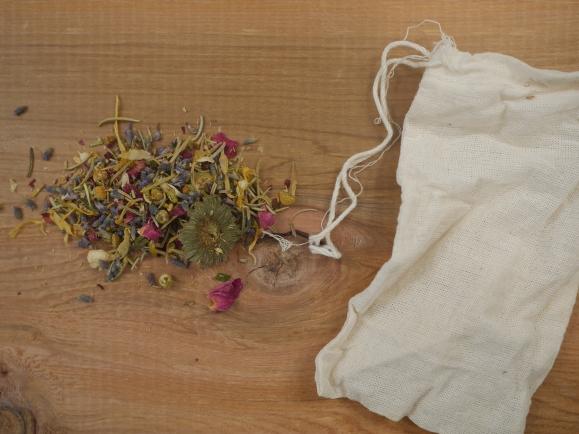 Dried Flower Bath Tea